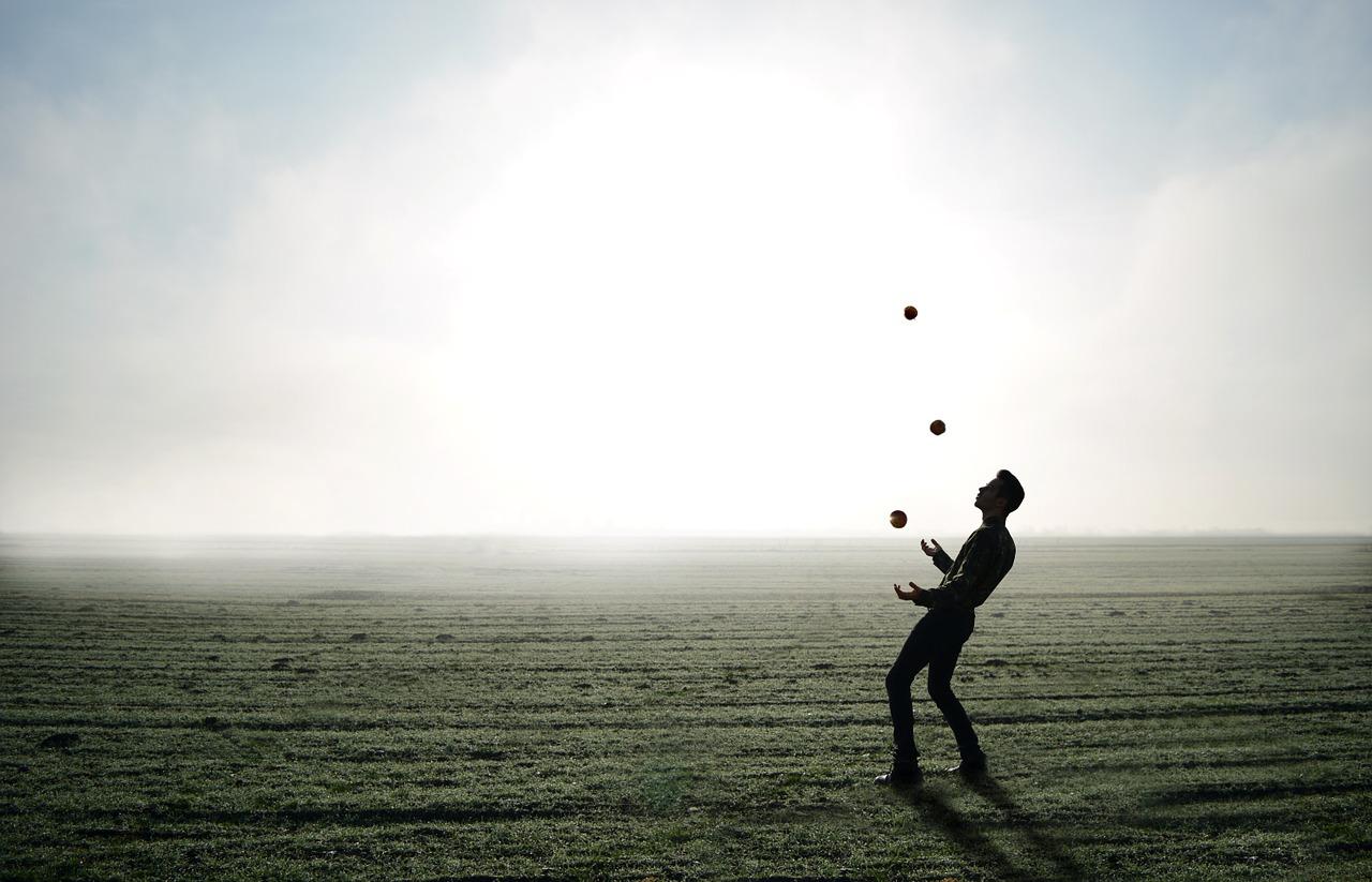 Dein Stoffwechsel und die Kunst des Jonglierens